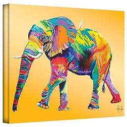 Art Wall Lynn-002-24x32-w Linzi Lynn \'The Ride\' Gallery-Wrapped Canvas Artwork, 24 by 32-Inch