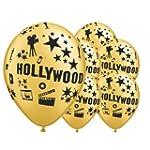 Gold Hollywood Theme 12 Inch Latex Ba...