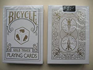 Rare Bicycle Gold Trace Deck Playing Cards Oro Trace Deck