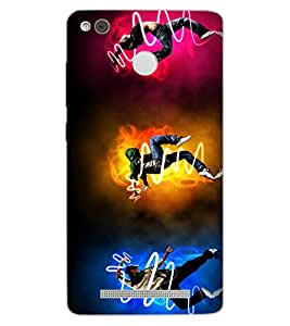 ColourCraft Dance Freaks Design Back Case Cover for XIAOMI REDMI 3X