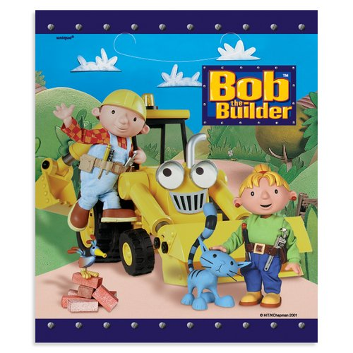 Bob the Builder Treat Bags - 8 Count - 1