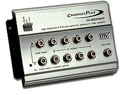 Channel Plus DA-8200HHR High-Headroom RF Distribution Amplifier