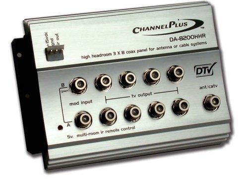 Channel Plus DA-8200HHR High-Headroom RF Distribution AmplifierB00009WDUI