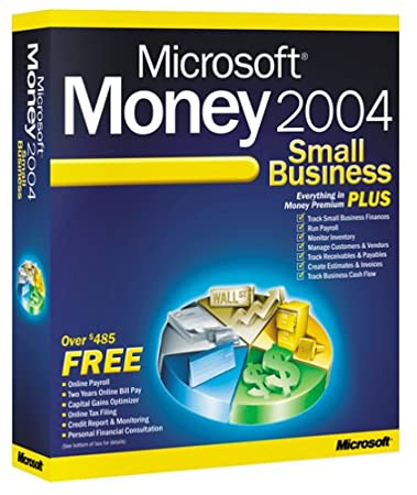 Microsoft Money 2004 Small Business Plus