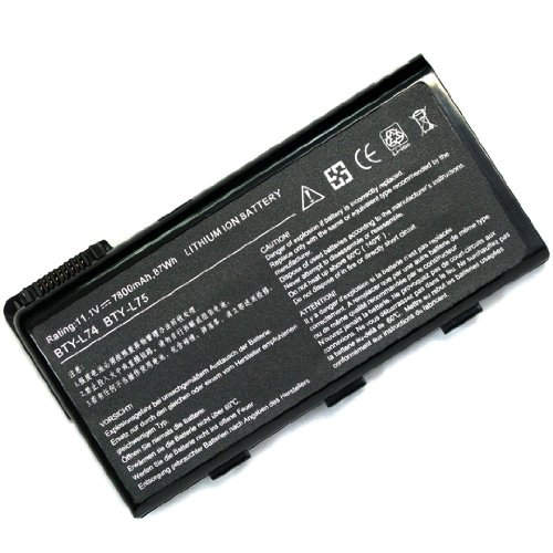 Laptop Battery for MSI BTY-L74 A6000