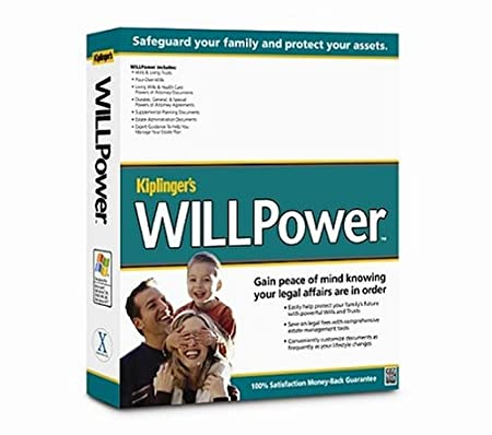Kiplinger's WillPower 2004 Win/Mac