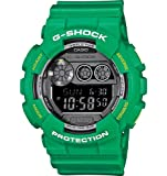 Casio G-Shock Digital Dial Green Resin Mens Watch GD120TS-3CR