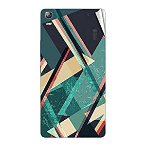 Garmor Designer Mobile Skin Sticker For Lenovo S720 - Mobile Sticker