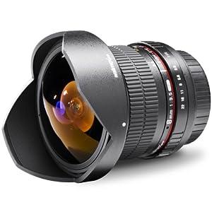 Walimex Pro 8mm f/3.5 Fisheye Lens Version II for Sony Alpha