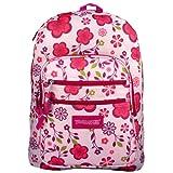 Apparel & Shoes Online Shop Ranking 18. Trail Maker Pink / Purple Spring Flowers Pattern Backpack / School Bag