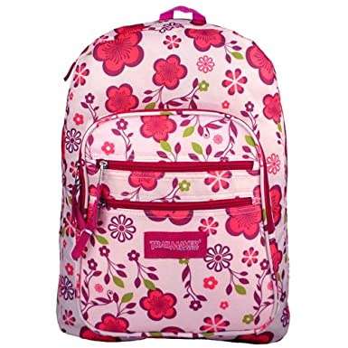 Girls' Backpacks for School are more apt to be pink and purple and ...