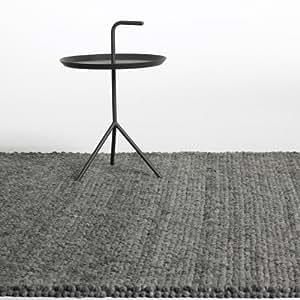 hay peas teppich dunkelgrau 170x240cm k che. Black Bedroom Furniture Sets. Home Design Ideas
