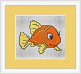 Goldfish Cross Stitch Kit Luca S Beginner 75cm x 6cm