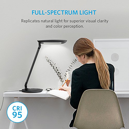 Anker Lumos E1 Led Desk Lamp With Dual Usb Charging Ports