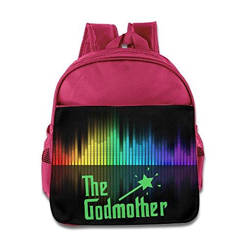 Godmother Kids School Backpack Bag Pink