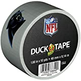 Duck Brand 240500 Carolina Panthers NFL Team Logo Duct Tape, 1.88-Inch by 10 Yards, Single Roll