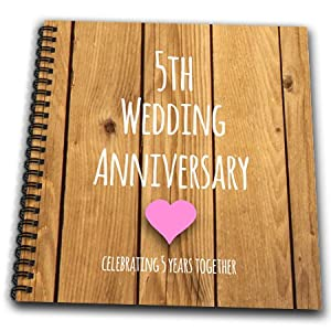 5th Wedding Anniversary Gift List : 5th Wedding Anniversary Gift Wood Celebrating 5 Years Together Fifth ...