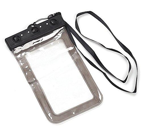 wasserfeste graue handy tasche mit schnellverschluss vom. Black Bedroom Furniture Sets. Home Design Ideas