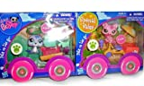 Littlest Pet Shop Pets And Vehicles Set Of 2 Seal And Cat