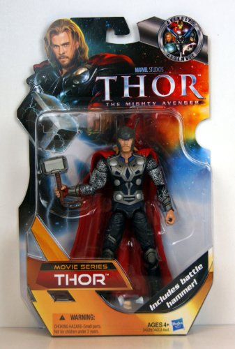 Thor The Mighty Avenger MOVIE Exclusive 6 Inch Action Figure Thor (Thor Action Figure 6 Inch compare prices)