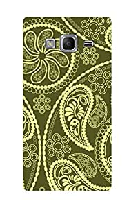ZAPCASE PRINTED BACK COVER FOR SAMSUNG TIZEN Z3- Multicolor