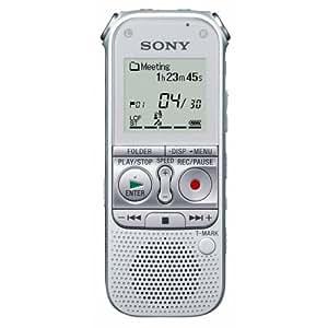 Sony ICD-AX412F - Digital voice recorder with radio - flash 2 GB - MP3