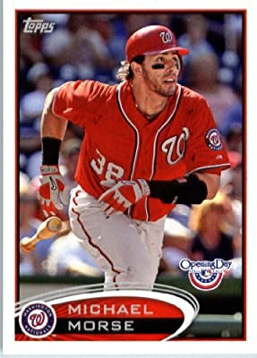 2012 Topps Opening Day Baseball #11 Michael Morse Washington Nationals - MLB Trading Card