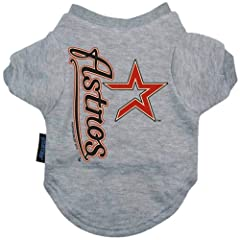 USA Wholesaler - DN-309191223-S - Houston Astros Dog Tee Shirt - Small by Hunter