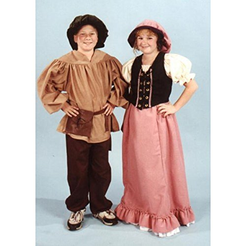 Alexanders Costumes Kids Renaissance Peasant Pants, Small, Black