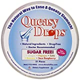 Three Lollies Sugar Free Queasy Drops Assorted for Nausea Relief, 3 Count