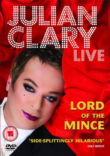 Julian Clary Live -  Lord of the Mince [DVD]