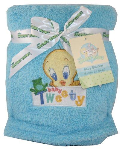 Imagen de Baby Looney Tunes Tweety Bird bebé Manta polar de 30