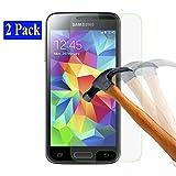 2x Samsung Galaxy S5 mini plt24 Ultra-Klar Glasfolie...