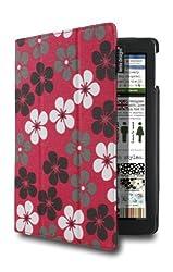 Lente Designs® Apple iPad Air cover / case in 'Crazy Daisy' design