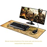 Cmhoo XXL Professional Large Mouse Pad & Computer Game Mouse Mat - 90x40 Ball