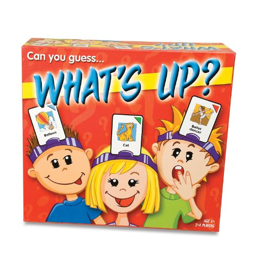 <p> This classic 'What's on my head?' game is written especially for children to play and enjoy. What's Up will provide