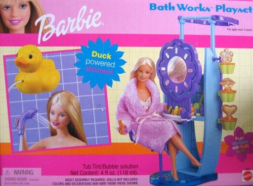 Barbie Bath Works Playset - Buy Barbie Bath Works Playset - Purchase Barbie Bath Works Playset (Barbie, Toys & Games,Categories,Dolls,Playsets,Fashion Doll Playsets)