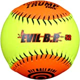 Trump® AK-EVIL-BP52 Evil Sports Synthetic Leather 12 Inch Batting Practice Softball