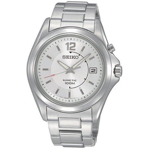 Seiko Gents Kinetic Stainless Steel Bracelet Watch SKA475P1