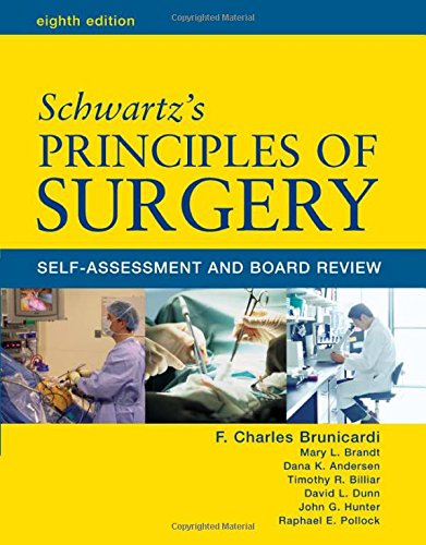 Schwartz' Principles Of Surgery: Self-Assessment And Board Review, Eighth Edition (Pretest Principles Of Surgery) front-1038527