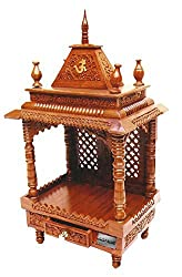 Aarsun Wooden Temple / Mandir 60 at a Special Discounted Price for Diwali