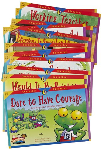 Creative Teaching Press Character Education Readers – Set of 12