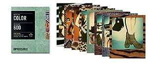 Impossible - 3198 - Edition Limitée - pellicule couleur pour Appareil Polaroid type P600 - cadre imitation peau d'animaux (skin) - 8 feuilles par boîte