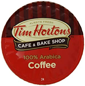 Tim Hortons Single Serve Coffee Cups,100% Arabica, 24 Count
