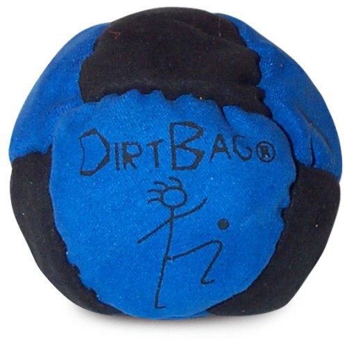 World Footbag Dirtbag Hacky Sack Footbag, Blue/Black