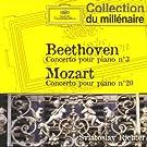 Beethoven : Concerto pour piano n� 3 - Mozart : Concerto pour piano n� 20