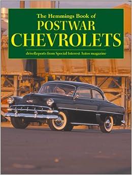 Motor News Book Of Postwar Chevrolets Hemmings Motor News