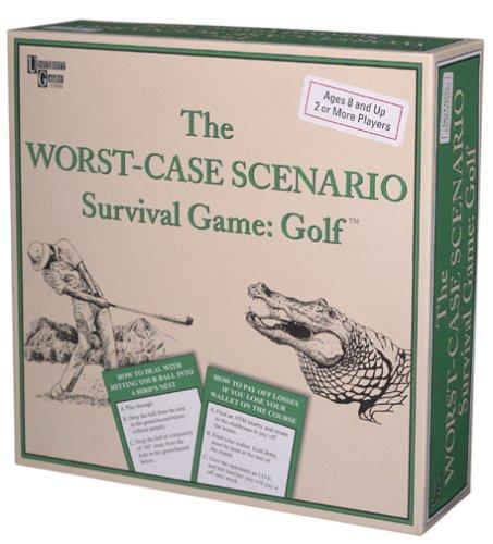 The Worst-Case Scenario Survival Game: Golf