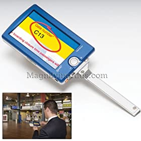 Optelec Compact+ 4.3 Inch Color Portable Video Magnifier