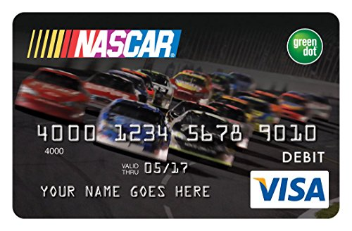 Race to the NASCAR? Prepaid Visa Card ? No credit check